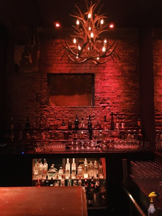 Second floor bar at Cliftons