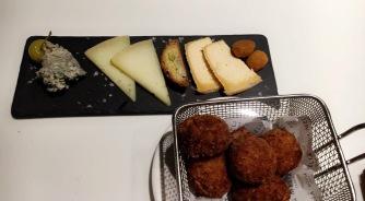 Manchengo cheese & Croquettas